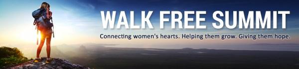 Walk Free Summit header