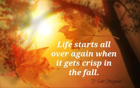 autumn leaves quote