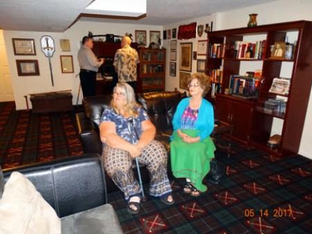 Our friend Liz Zacharias with Ray's stepmom Sue Jones
