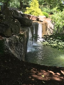 Japanese Stroll Garden Waterfall