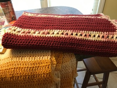 hand-made blankets