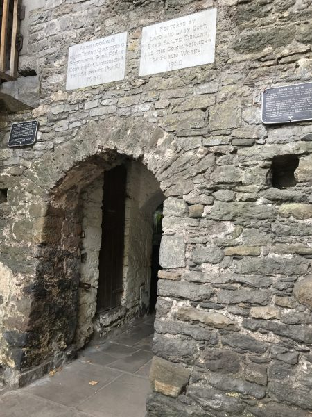 Bunratty Castle door