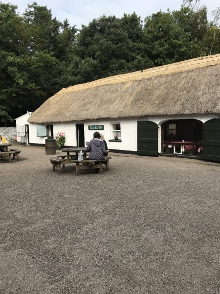 Bunratty Folk Park tea shop