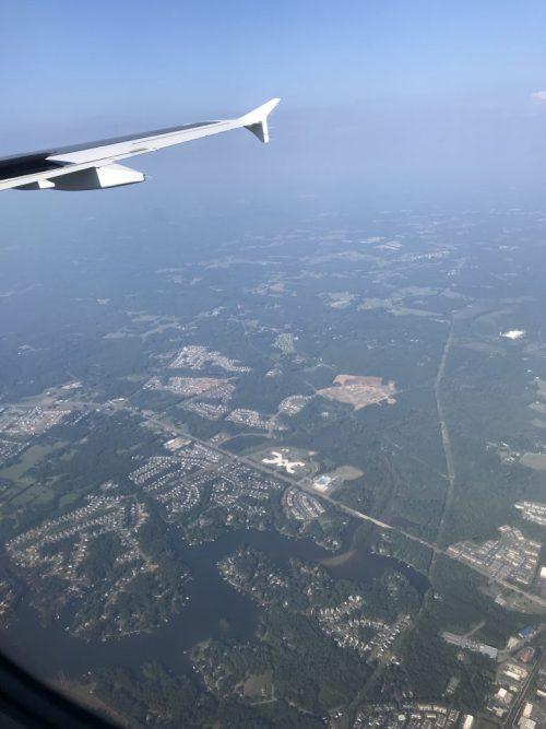 I love flying