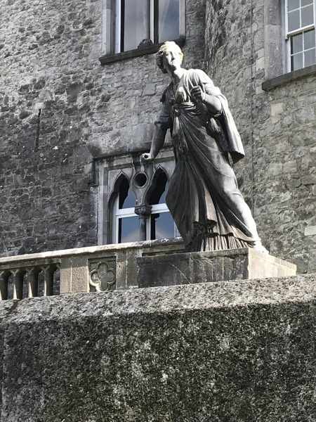statue at Kilkenny Castle