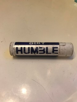 Stay humble chapstick