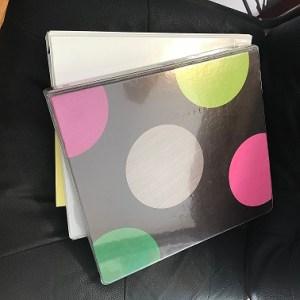 cute binders