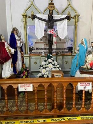 San Juan de Dios Convent's sculpture of Jesus