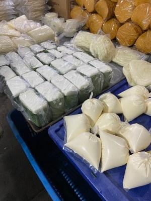 street market cheese