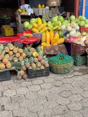 street market fruits
