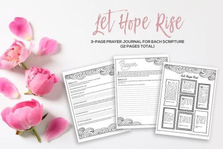 3 page prayer journal