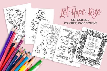 Coloring Page Designs