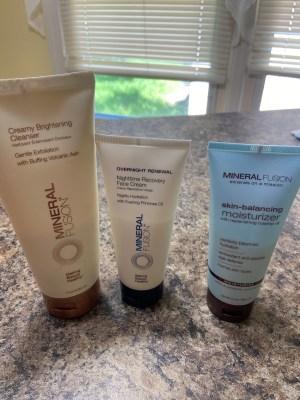Mineral Fusion skin care