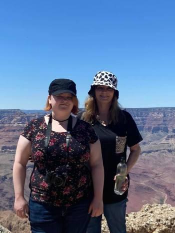 Leah and me, Grand Canyon