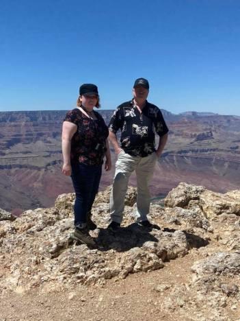 Leah and Ray, Grand Canyon