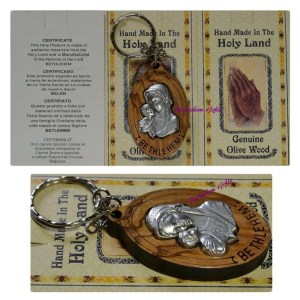 Mother and Child Key Chain from Bethlehem