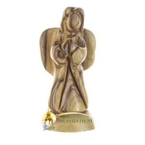 Olive Wood Praying Angel from Bethlehem