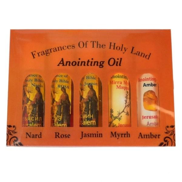 Variety of Anointing Oil Fragrances from Bethlehem