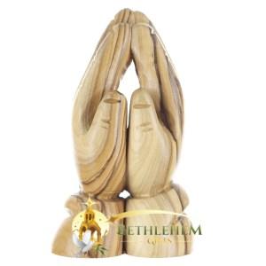 Olive Wood Praying Hands from Bethlehem