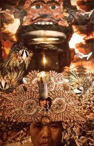 photomontage: Atomic Explosion