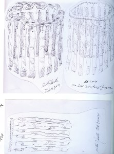 """Circle of Life,"" first concept drawings, February 5, 2014,"