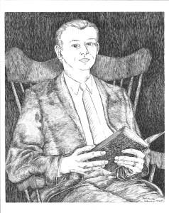 drawing: Dr. Robert Cummings Neville