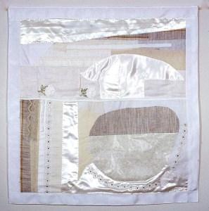 wedding dress fabric banner