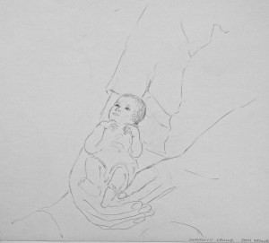drawing: Gwendolyn and Robert