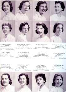 """Smith Class of '59 Year Book"" photos,"