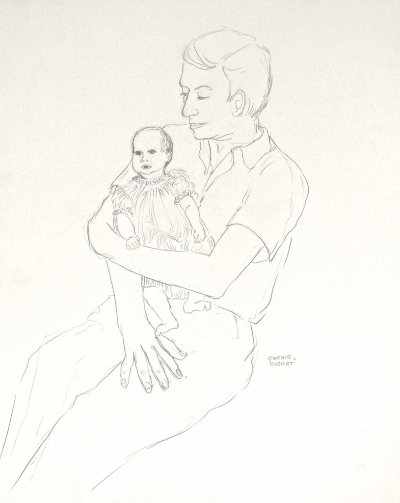 drawing: Robert Holding Gwendolyn