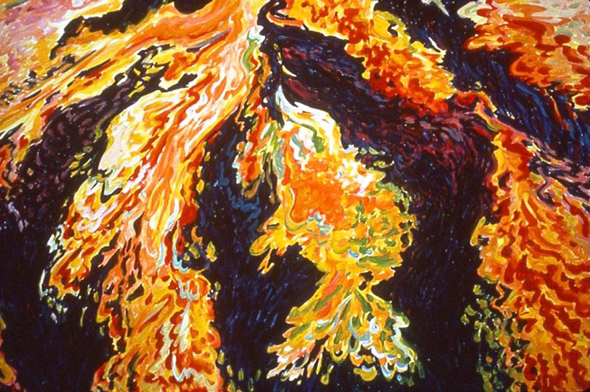 Volcanic Explosion #3, detail