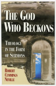"book cover: ""The God Who Beckons"""