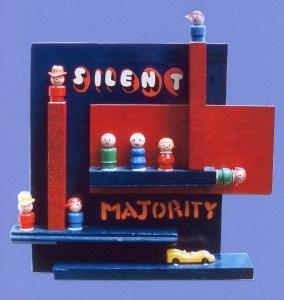 sculpture: Silent Majority