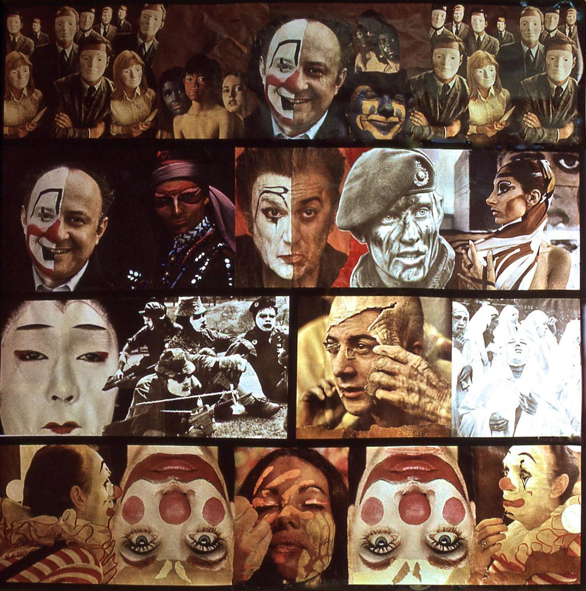 """""""Masks"""" photomontage"""