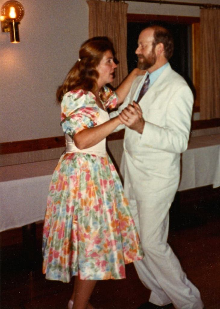 Beth and Bob Neville dancing