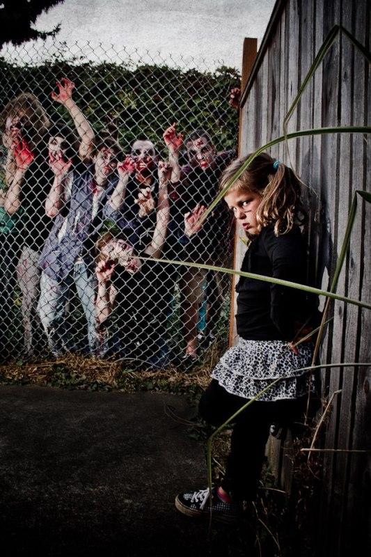 the walking dead- Zombie Portraits