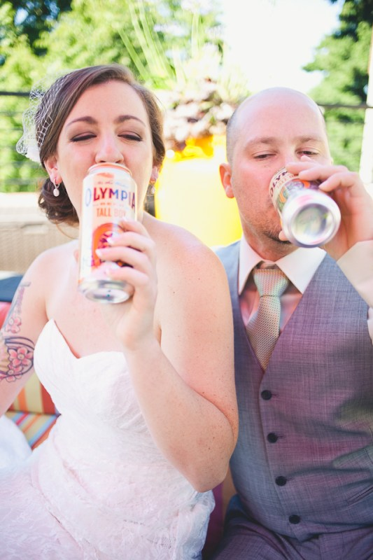 Ashely + Michael's Downtown Portland Wedding