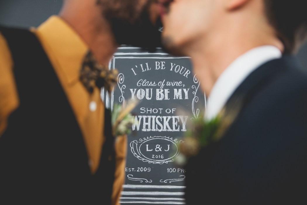 Masculine Gay Wedding Styled Shoot