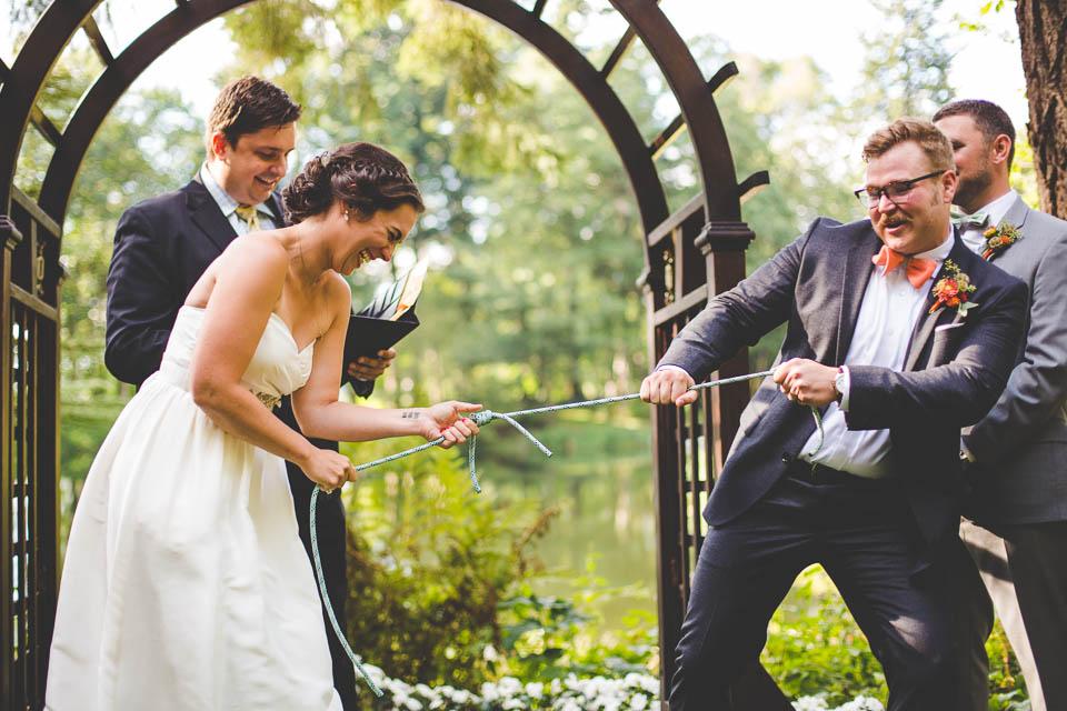 Melanie + Andrew's Bridal Veil Lakes Wedding