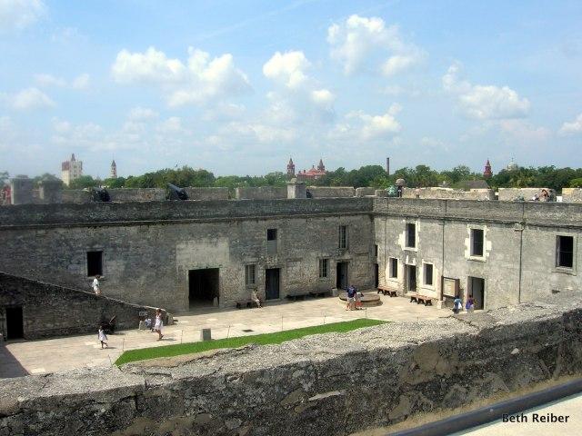 Castillo de San Marcos fort in St. Augustine