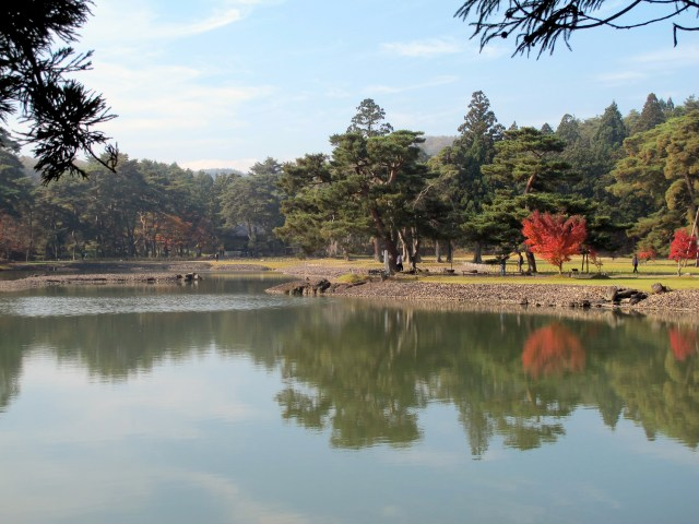 The Pure Land Garden in Hiraizumi