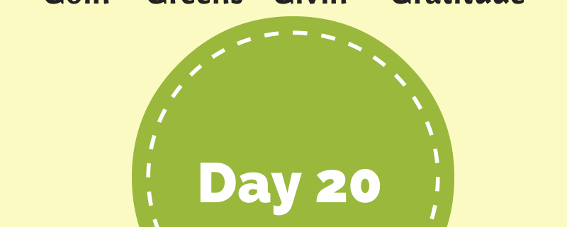 My Feel Good Journal - Day 20 - http://www.BethSawickie.com