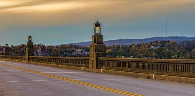 Columbia PA Bridge 2 by Beth Sawickie fall-stroll-columbia-bridge-susquehanna