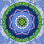 Earth and Sky Mandala by Beth Sawickie www.bethsawickie.com/earth-and-sky-mandala
