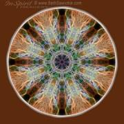 Power of the Stones Mandala by Beth Sawickie www.bethsawickie.com/power-of-the-stones-mandala #mandala #meditation #kaleidoscope #healingenergy