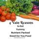 4 Vain reasons to eat healthy - Beth Sawickie