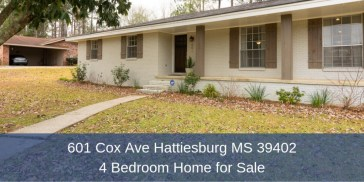 Hattiesburg MS Homes