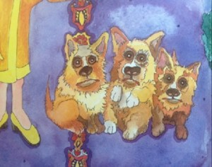 Corgis fit to print 3 in color copy