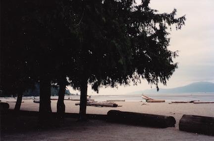 Spanish Banks beach