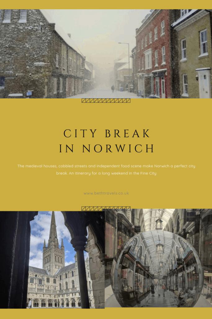 Pinterest Norwich City Break Pin